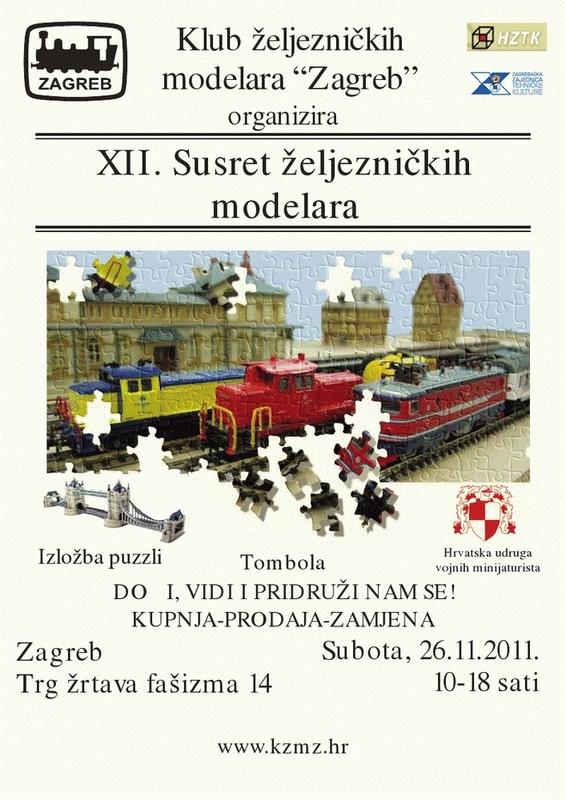 26.11.2011. – XII. Susret željezničkih modelara