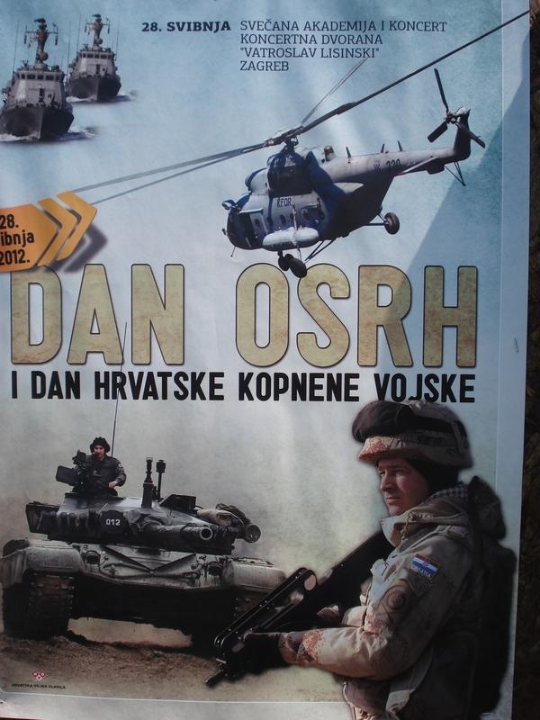 27.05.2012. – Taktičko – tehnički zbor naoružanja i opreme OSRH i MUP-a