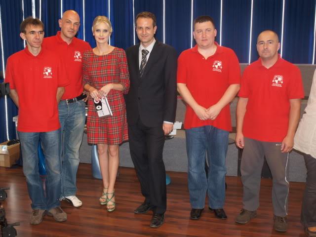 """19.09.2011. – """"Dejana talk show"""" OBN, Sarajevo"""