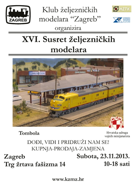 23.11.2013. – XVI. Susret željezničkih modelara