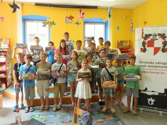 29.06.-10.07.2015. – Maketarska radionica juniora Vedrana u Bjelovaru