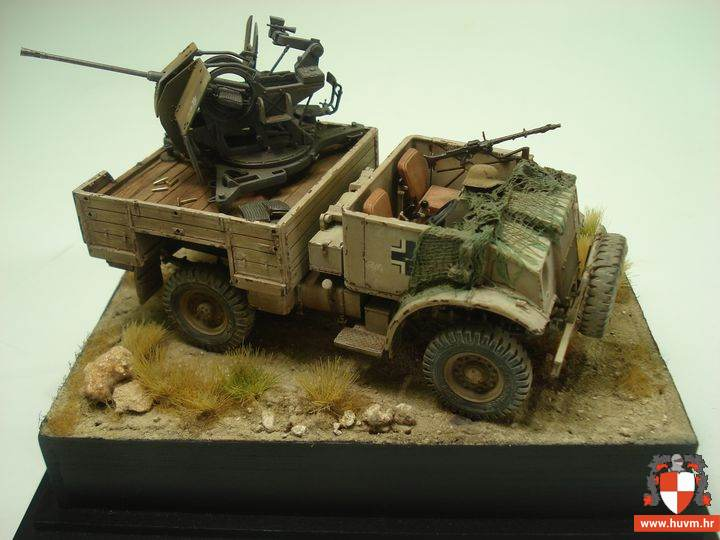 Chevrolet 15 CWT w. Flak 1/35 – by Stips