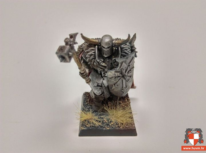 Chaos warrior 28mm – by Lana