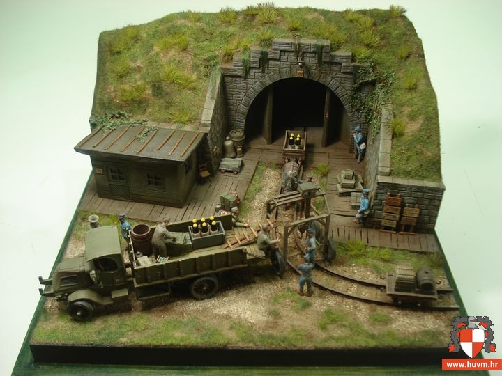 "Diorama ""Grande Boutique"" 1/72 – by Stips"
