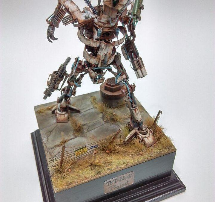 "Diorama ""Tetanus Project"" 1/72 – by Hrc"