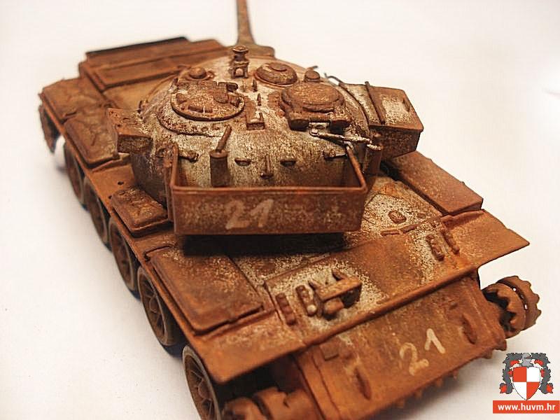"""Ranjena """"Plava zvijer"""" T-54/55 1/72 – by Stips"""