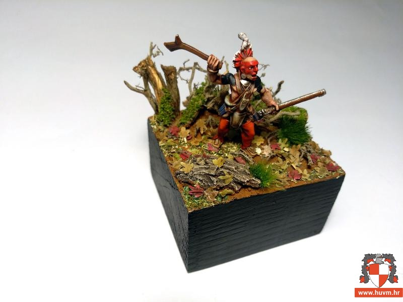 Woodland indians – French Indian war 28 mm – by Nono