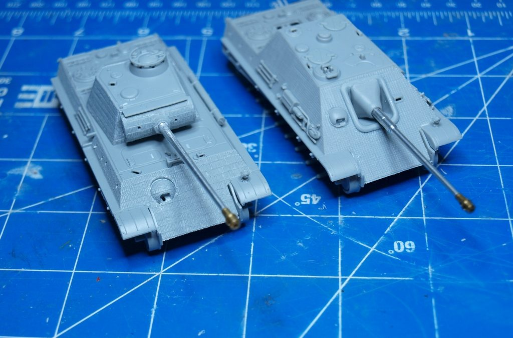 Panther & Jagdpanther 1/72 – by Tasma