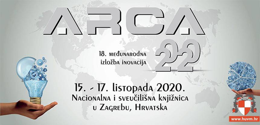 15.-17.10.2020. – 18. Međunarodna izložba inovacija ARCA 2020