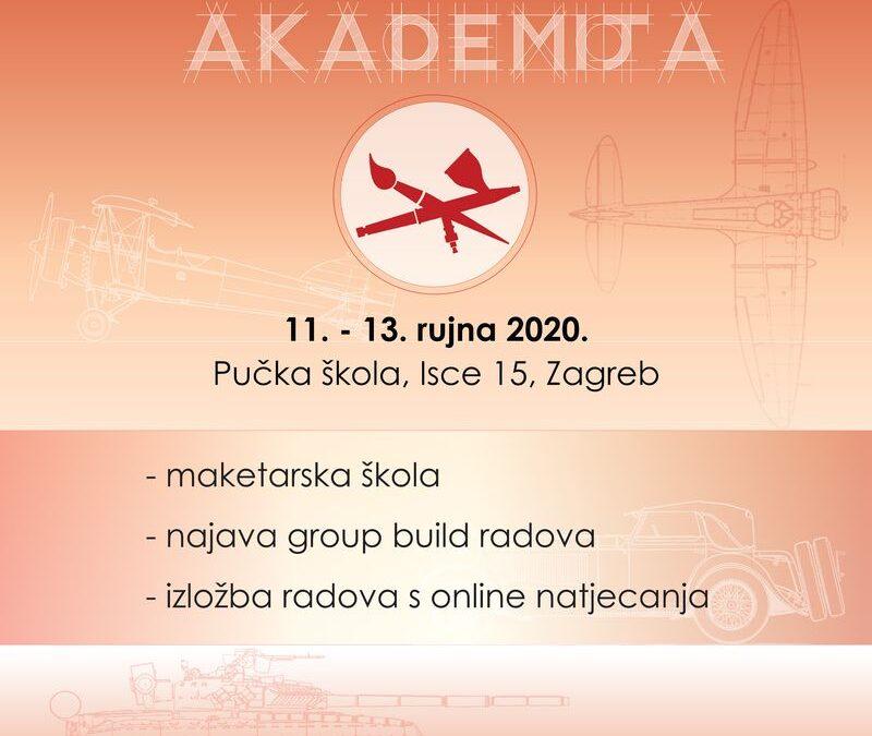 11.-13.09.2020. – Međunarodna maketarska akademija