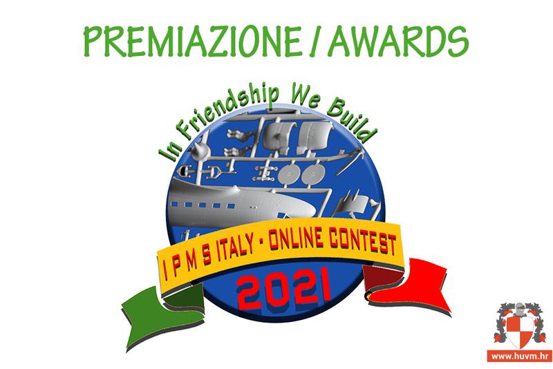 15.06.2021. – Rezultati 1° Concorso Internazionale On line IPMS Italia