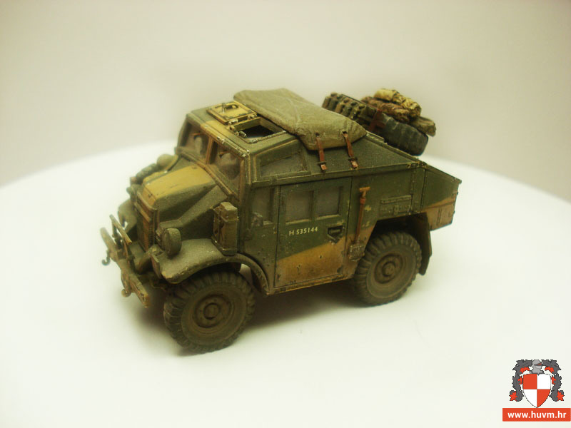 Morris Quad Tractor 1/72 – by Stips