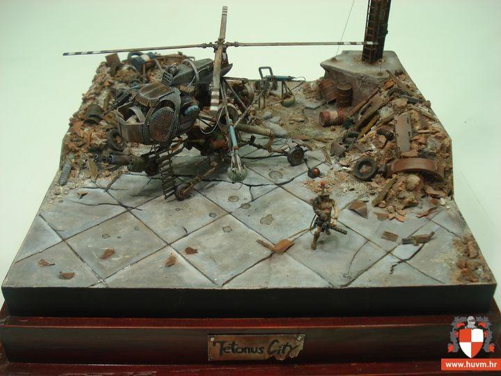"Diorama ""Tetanus City"" 1/72 – by Hrc"