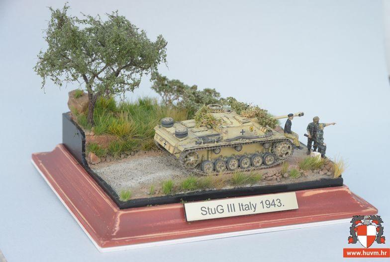 Vinjeta StuG III Ausf G,  Italy 1943. 1/72 – by Tasma
