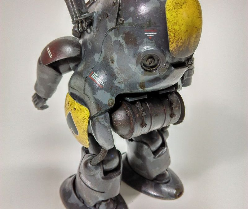 Robot Battle V 44 Type MK44 Ammoknights 1/20 – by Alf