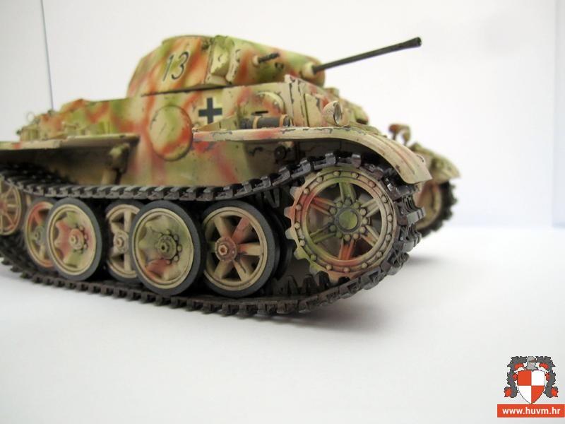 Pzkpfw.II Ausf.J 1/35 – by Niko