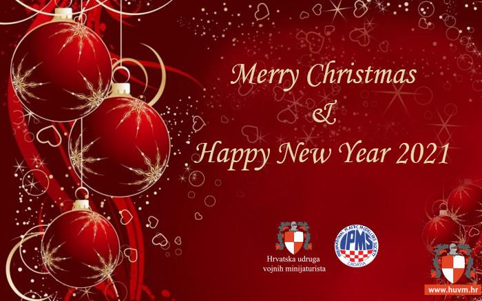 Sretan Božić i Nova 2021. godina!
