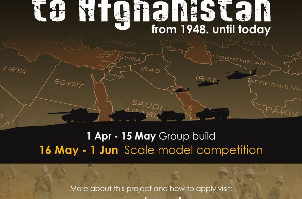 """01.04.-01.06.2021. – Group Build & Online Competition """"From Middle East to Afganistan"""""""